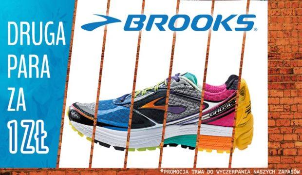 buty brooks dla biegaczy - druga para za złotówke