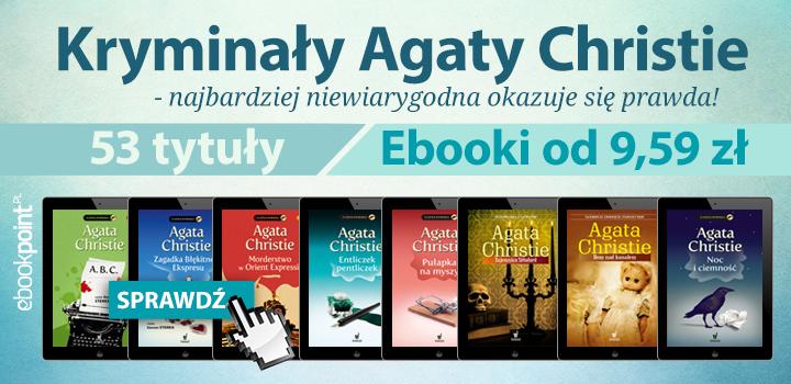 Kryminały Agaty Christie od 9,59 zł @ ebookpoint.pl