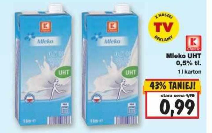 Mleko UHT 0,5% @ Kaufland