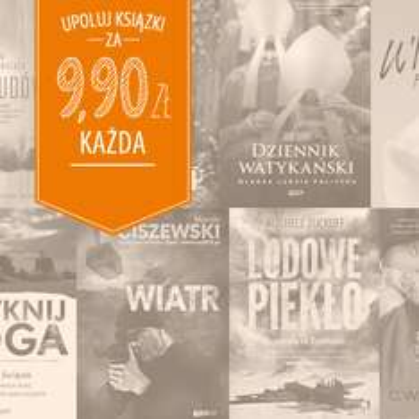 Książki za 9,90zł @ Znak