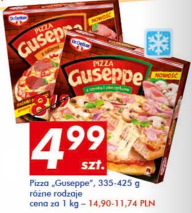 #Auchan: Pizza Guseppe za 4,99zł