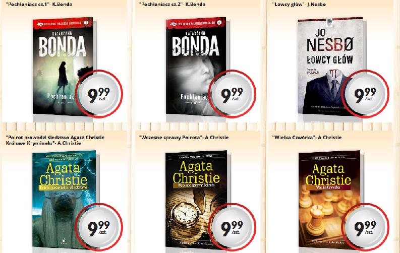 Książki kieszonkowe za 9,99zł @ Biedronka