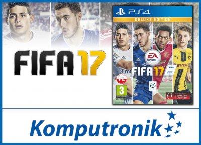 FIFA 17 Edycja DELUXE na PS4 @Komputronik na Allegro