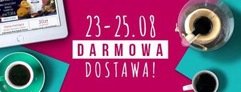 www.coffeedesk.pl, darmowa dostawa 23-25.08
