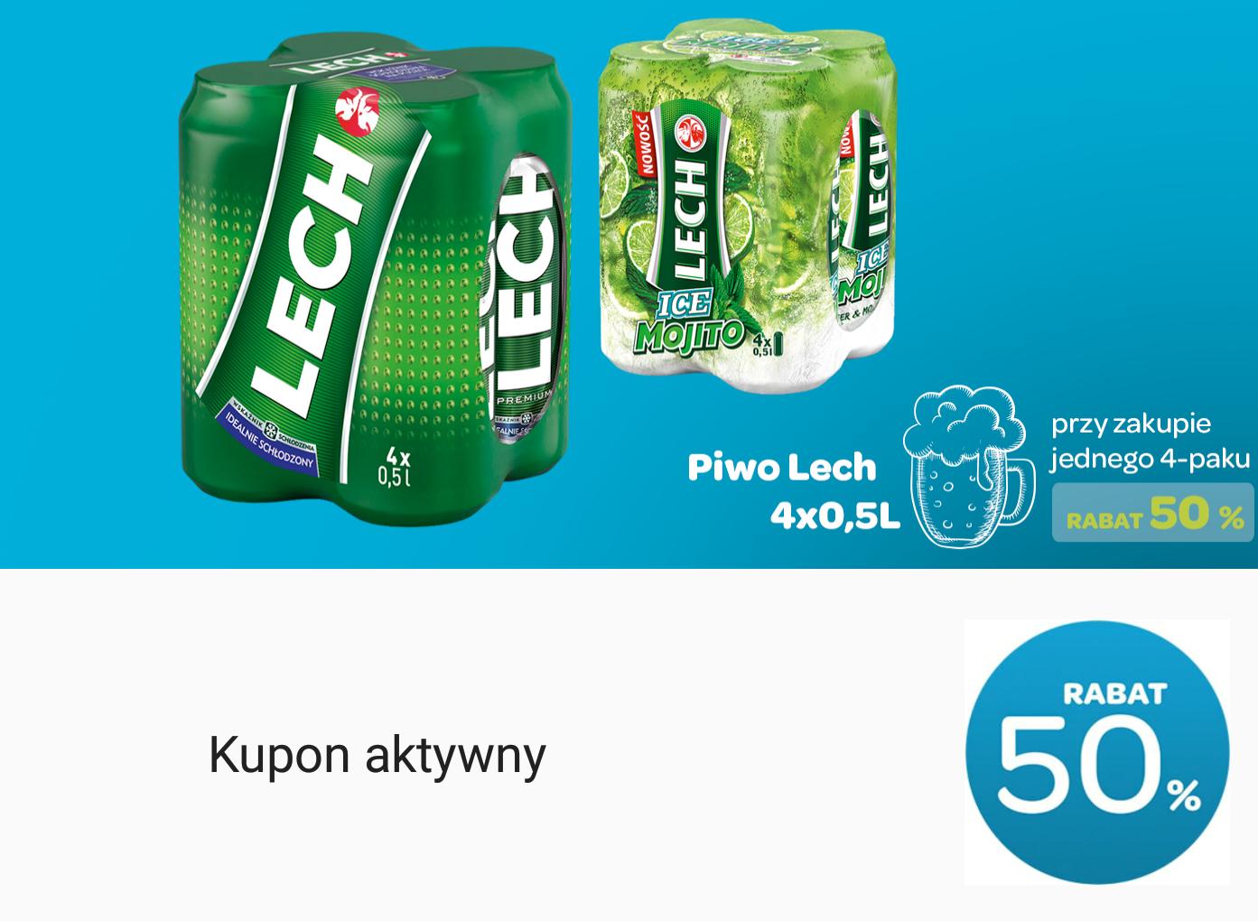 4-pak Lecha Premium za 5,6zł (Carrefour)