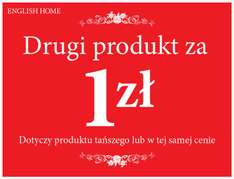 English Home, drugi produkt za 1 zł