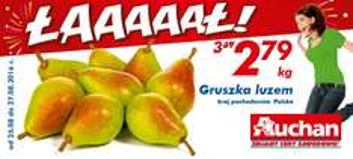 Gruszka luzem kg @Auchan