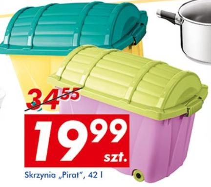 Pudełko na kółkach za 19,99zł @ Auchan