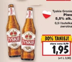 TYSKIE 5oo ml butelka - Kaufland