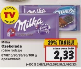 MILKA czekolada Kaufland