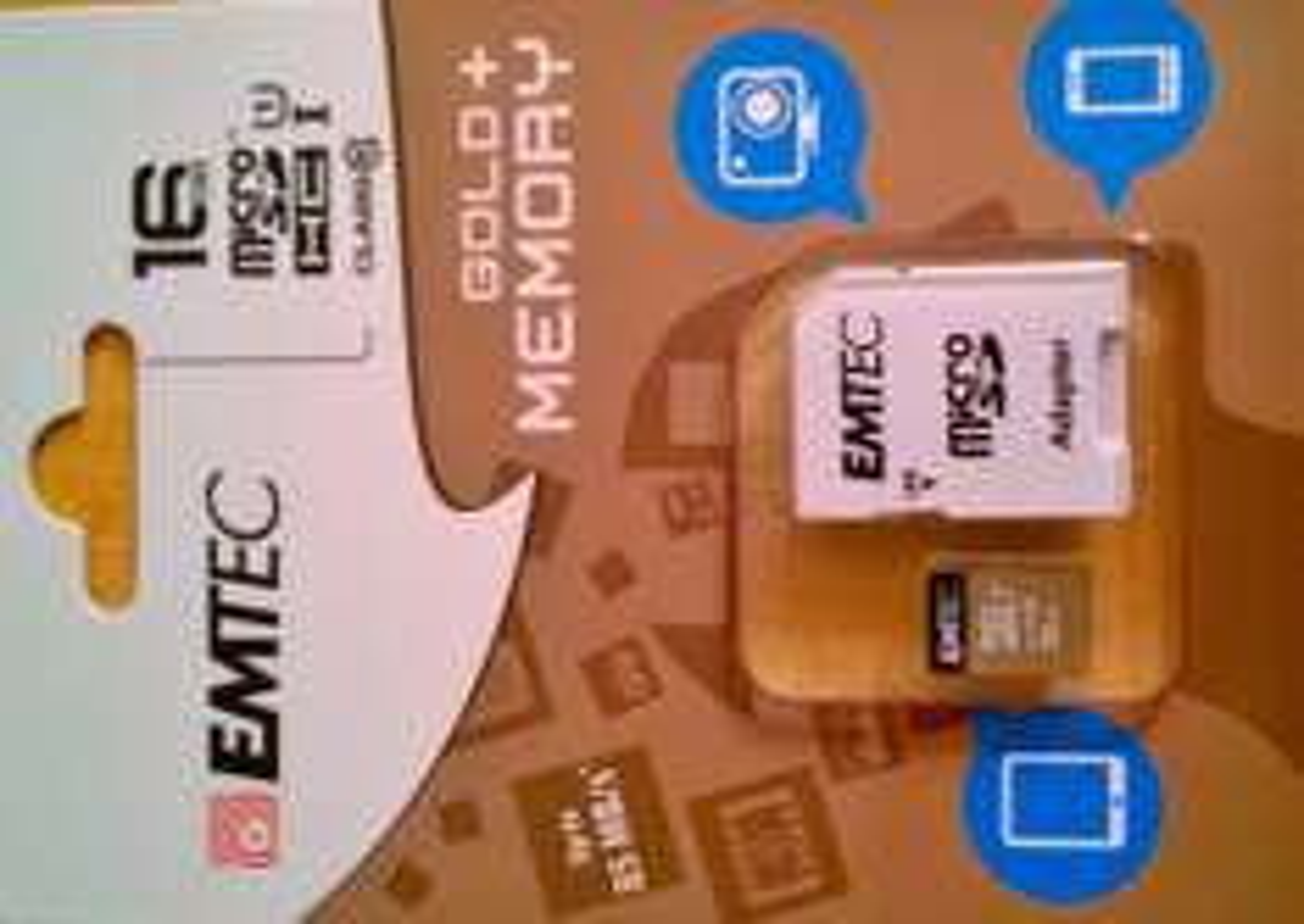 Karta pamięci Emtec 16 gb - micro sd