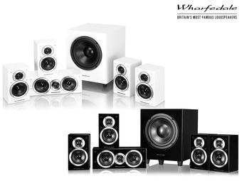 Zestaw głośników do kina domowego Wharfedale 5.1 DX-1 SE (białe i czarne) @ iBood