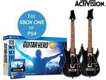 Guitar Hero Live z dwiema gitarami @ iBood