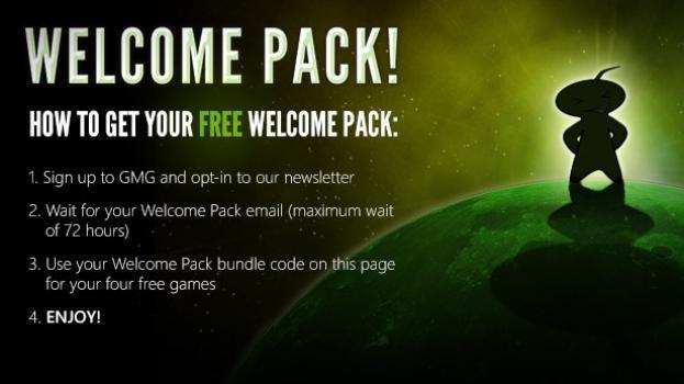 Welcome Pack ( 6 gier na Steam za darmo) dla nowych klientów @  Greenmangaming: