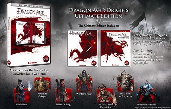 Dragon Age: Origins - Ultimate Edition za ok. 22zł @ Steam