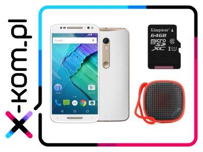 LENOVO Moto X Style + głośnik BT + karta 64GB