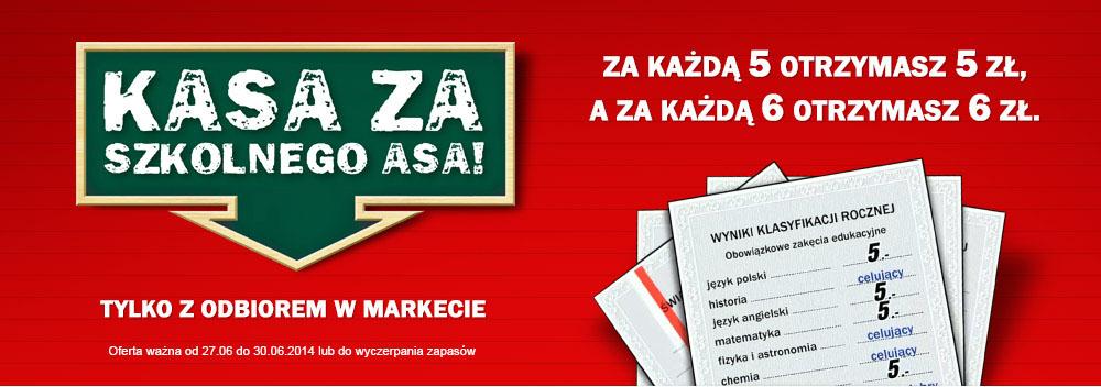 Rabat za szkolne świadectwo @ Media Markt