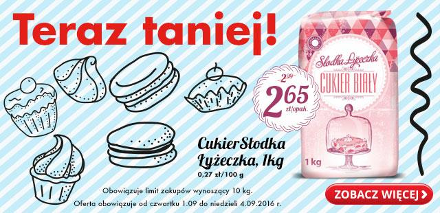 Cukier Słodka Łyżeczka kg @Biedronka