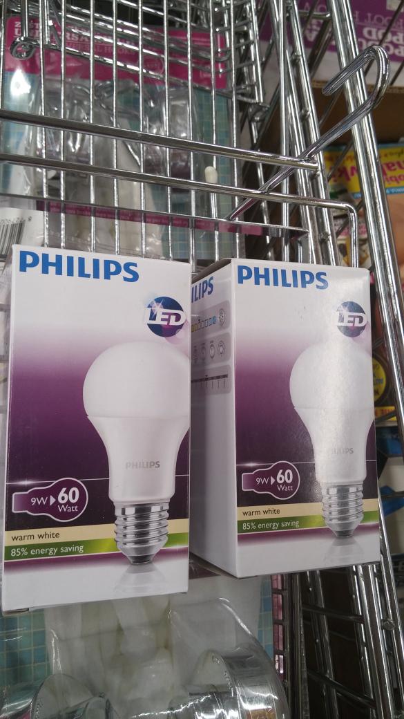 żarówka LED 9W (odpowiednik 60W) Philips z 20zł na 7! -65% w biedrze