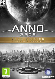 Anno 2205 GOLD EDITION (PC, Uplay) 171,53zł taniej! @ Muve