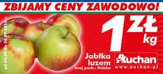 Jabłka luzem kg @Auchan