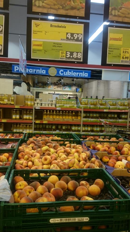 Brzoskwinie Paraguaya - błąd cenowy?