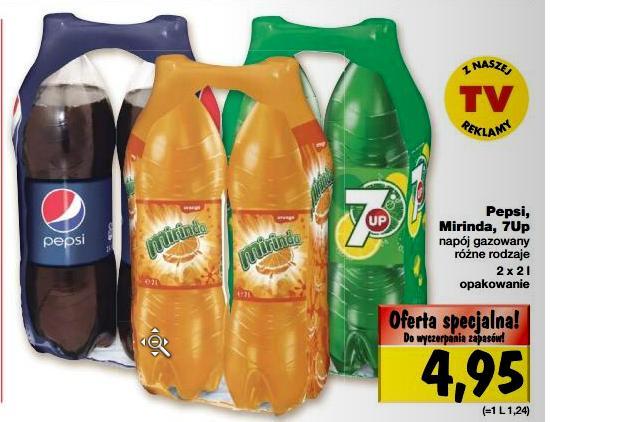 Dwupak Pepsi, Mirindy lub 7UP za 4,95 zł @ Kaufland