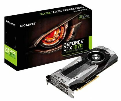 Gigabyte GeForce GTX 1070 Founders Edition 8GB GDDR5 gorący strzał @x kom