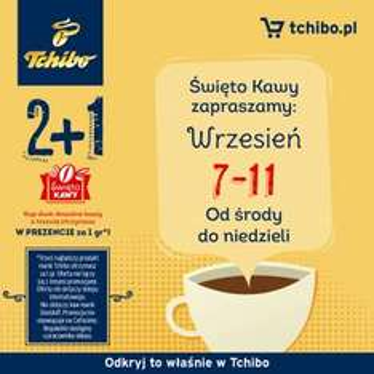 Trzecia kawa gratis @ Tchibo