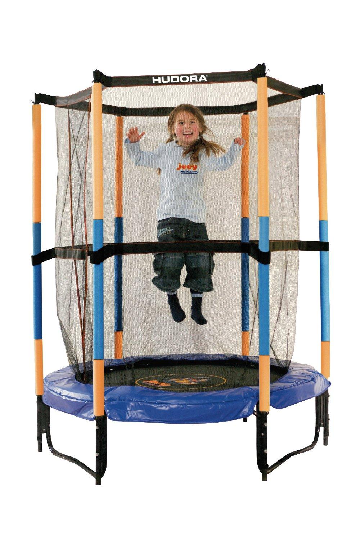 Hudora - bezpieczna trampolina 140cm za ok. 230zł @ Amazon.de