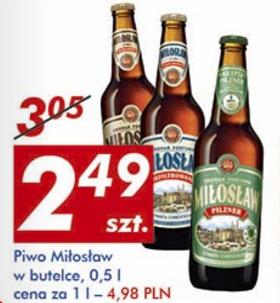 #Auchan: Piwo Miłosław