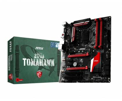 MSI Z170A TOMAHAWK (Z170 2xPCI-E DDR4) gorący strzał @x kom