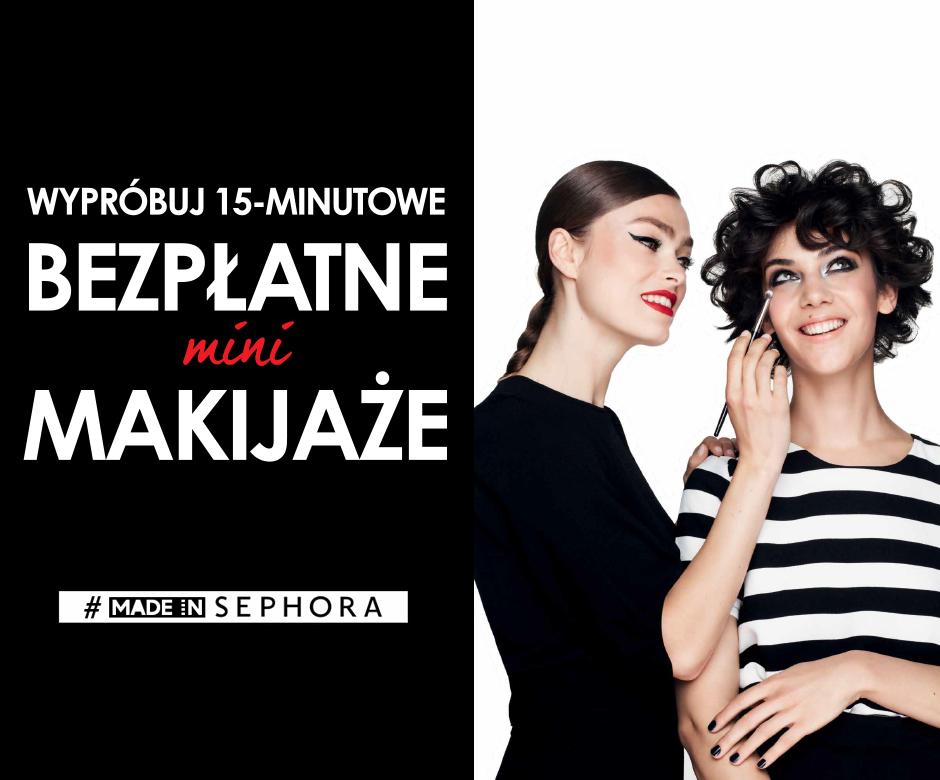 Bezpłatne usługi makijażowe @ Sephora