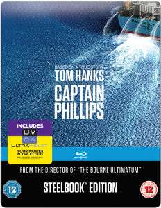 Captain Phillips (4K, Steelbook Edition, Blu-ray) ~ 57zł @ Zavvi
