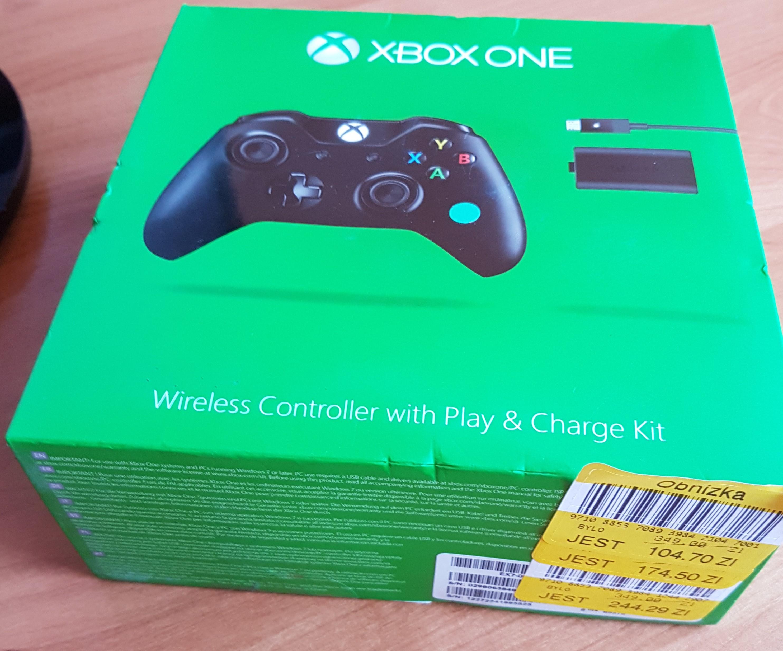 Xbox One Pad za 104,70zł @ Tesco
