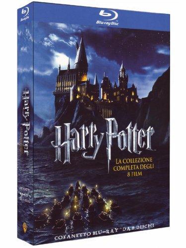 Harry Potter: kompletna seria (8 płyt, Blu-Ray) za 87zł @ Amazon.it