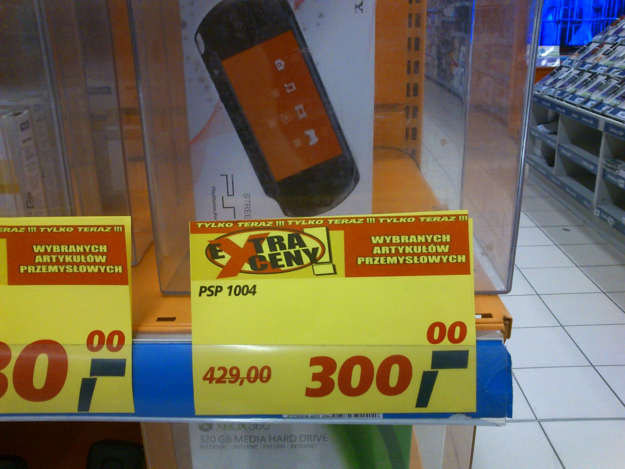 PSP E1004 za 300zł @ Real