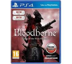 Bloodborne Game of the Year Edition za 149 zł