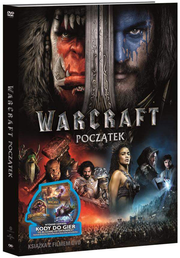 Warcraft: Początek na DVD + dodatki (Battlechest, postacie i inne) @ CDP/Empik