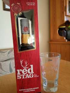 Jim Beam Red Stag 0,7 + szklanka Kaufland