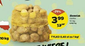 Ziemniak siatka 10 kg @Netto