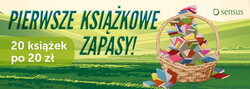 20 książek po 20 zł @ Sensus.pl