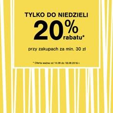 F&F Tesco - 20%