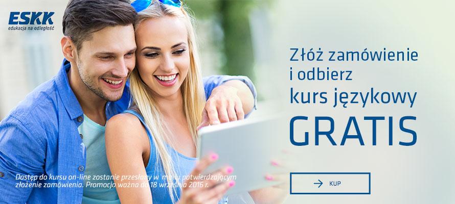 Kurs językowy GRATIS do dowolnego zamówienia @ Matras