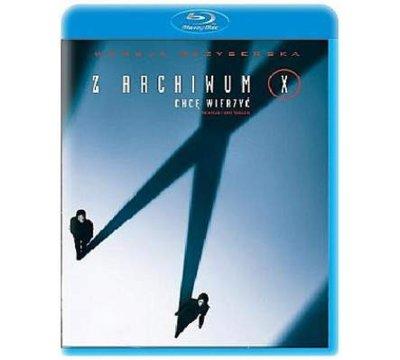 Z Archiwum X: Chcę wierzyć (The X Files: I Want to Believe) Blu-Ray za 29,99zł @ Media Markt