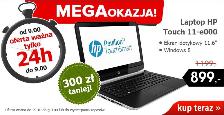 Oferta dnia! Laptop HP Touch 11-e000 TAŃSZY o 300 zł @ Agito.pl
