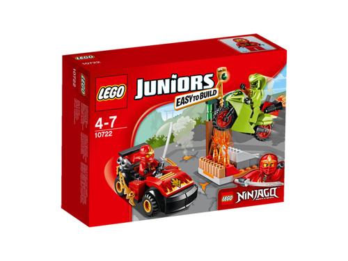 Zestaw LEGO Juniors 10722 Starcie z wężem TANIEJ niż na Allegro