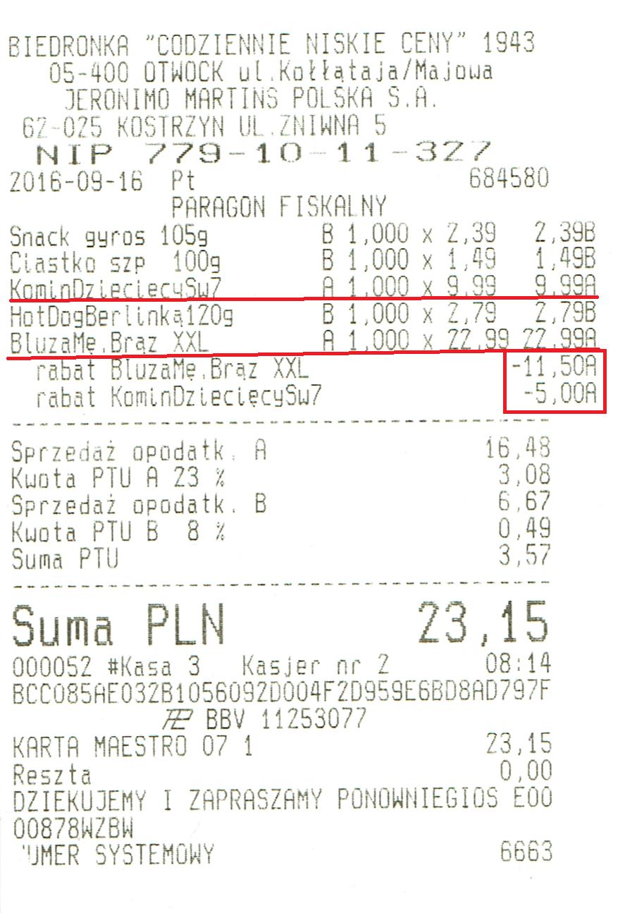 Bluza polarowa męska za 11,49 zł @Biedronka