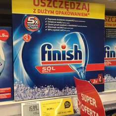 Finish - sól do zmywarki 4 kg (Tesco)