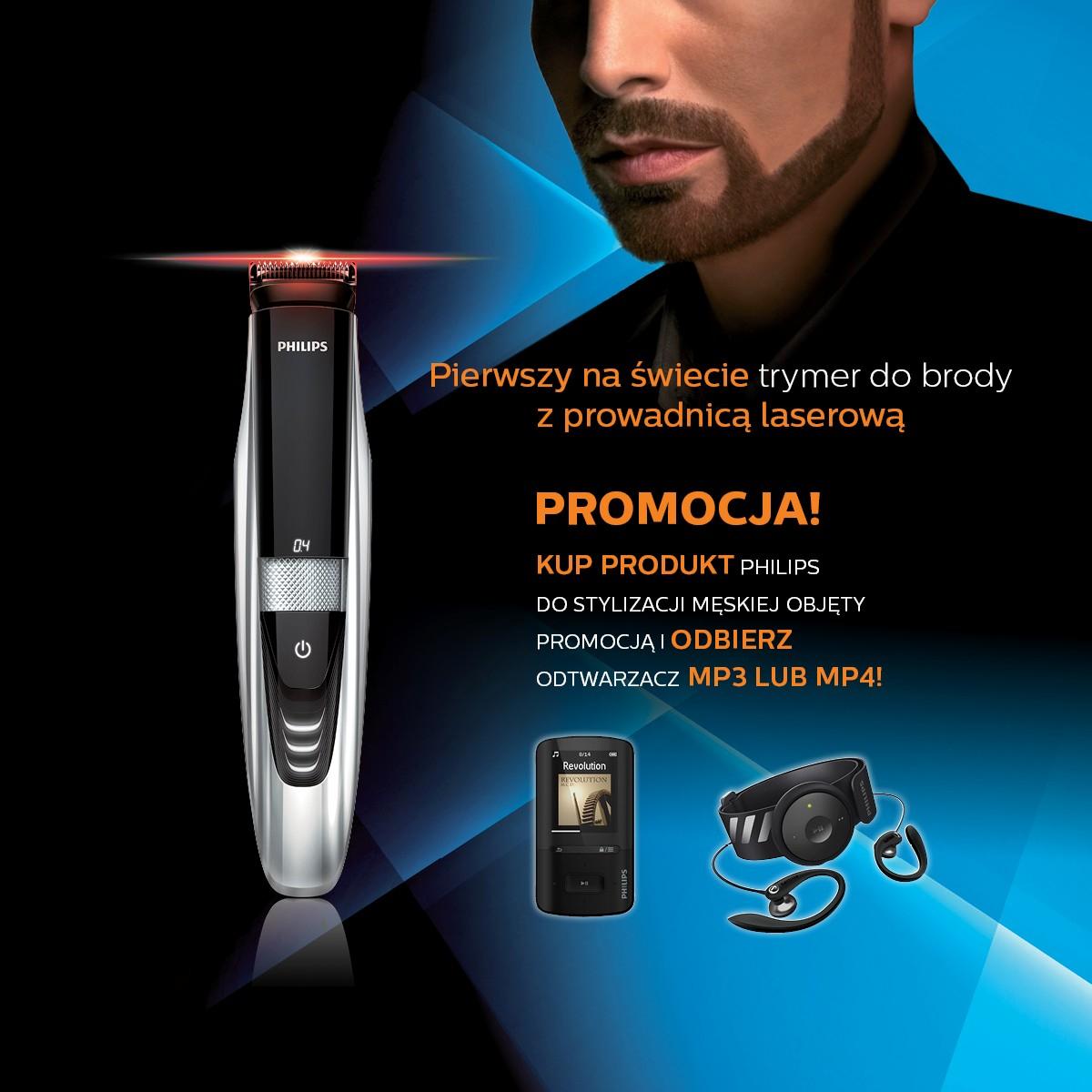 Kup produkt do stylizacji męskiej i odbierz mp3 lub mp4 @ Philips